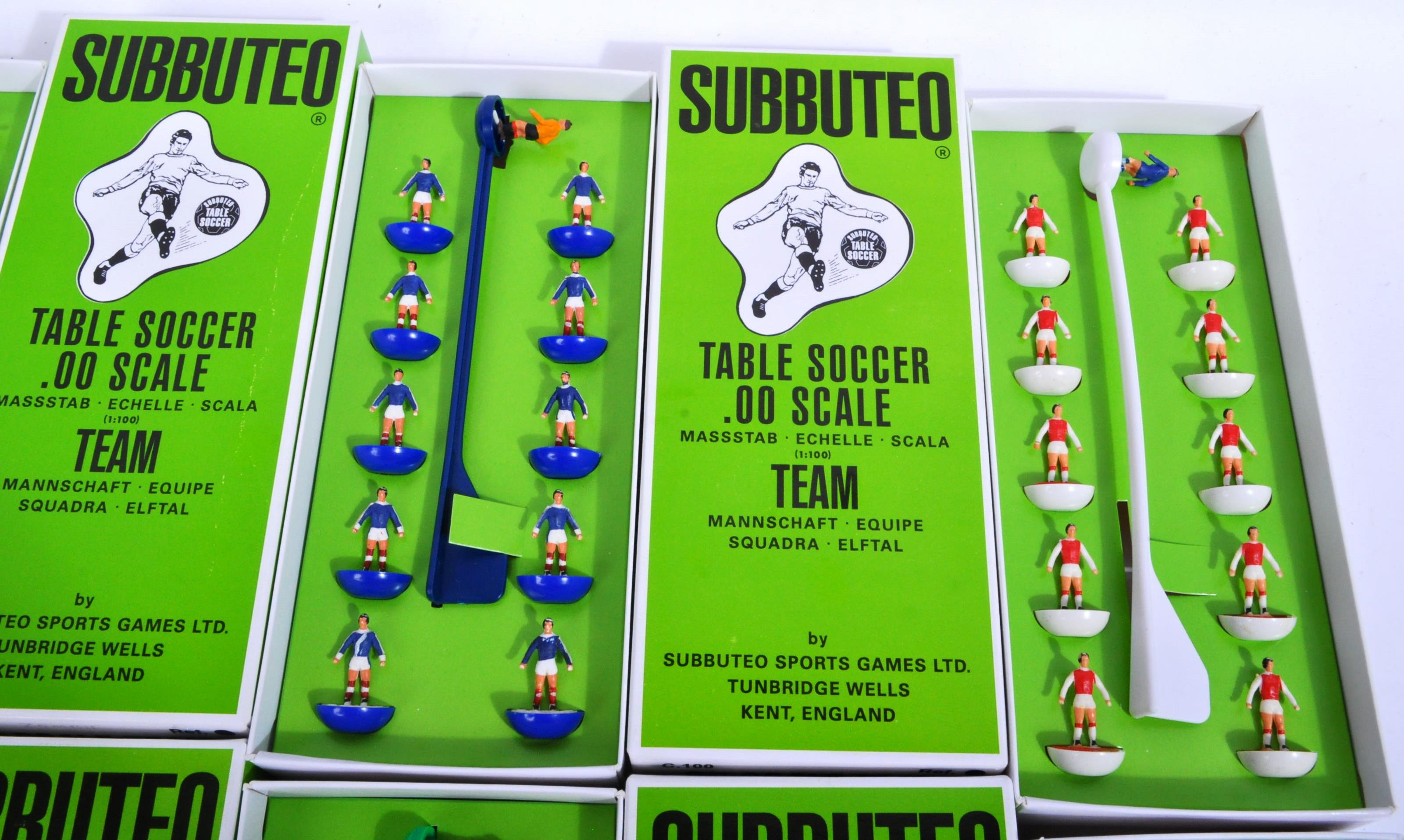 COLLECTION OF X10 ASSORTED VINTAGE SUBBUTEO FOOTBALL TEAMS - Image 4 of 6