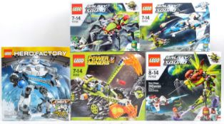 LEGO SETS - GALAXY SQUAD - HERO FACTORY - POWER MINERS