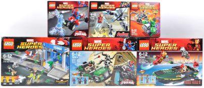 LEGO SETS - MARVEL SUPERHEROES - 76004 / 76006 / 76014 / 76029 / 76066 / 76082