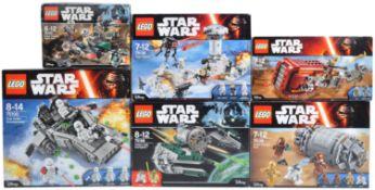 LEGO SETS - LEGO STAR WARS - 75099 / 75100 / 75136 / 75138 / 75164 / 75168