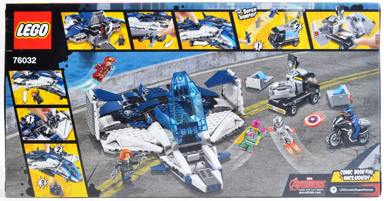 LEGO SET - MARVEL SUPERHEROES - 76032 - AVENGERS QUINJET CITY CHASE - Image 2 of 4
