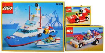 LEGO SETS - LEGO CLASSIC - 6353 / 6509 / 6646
