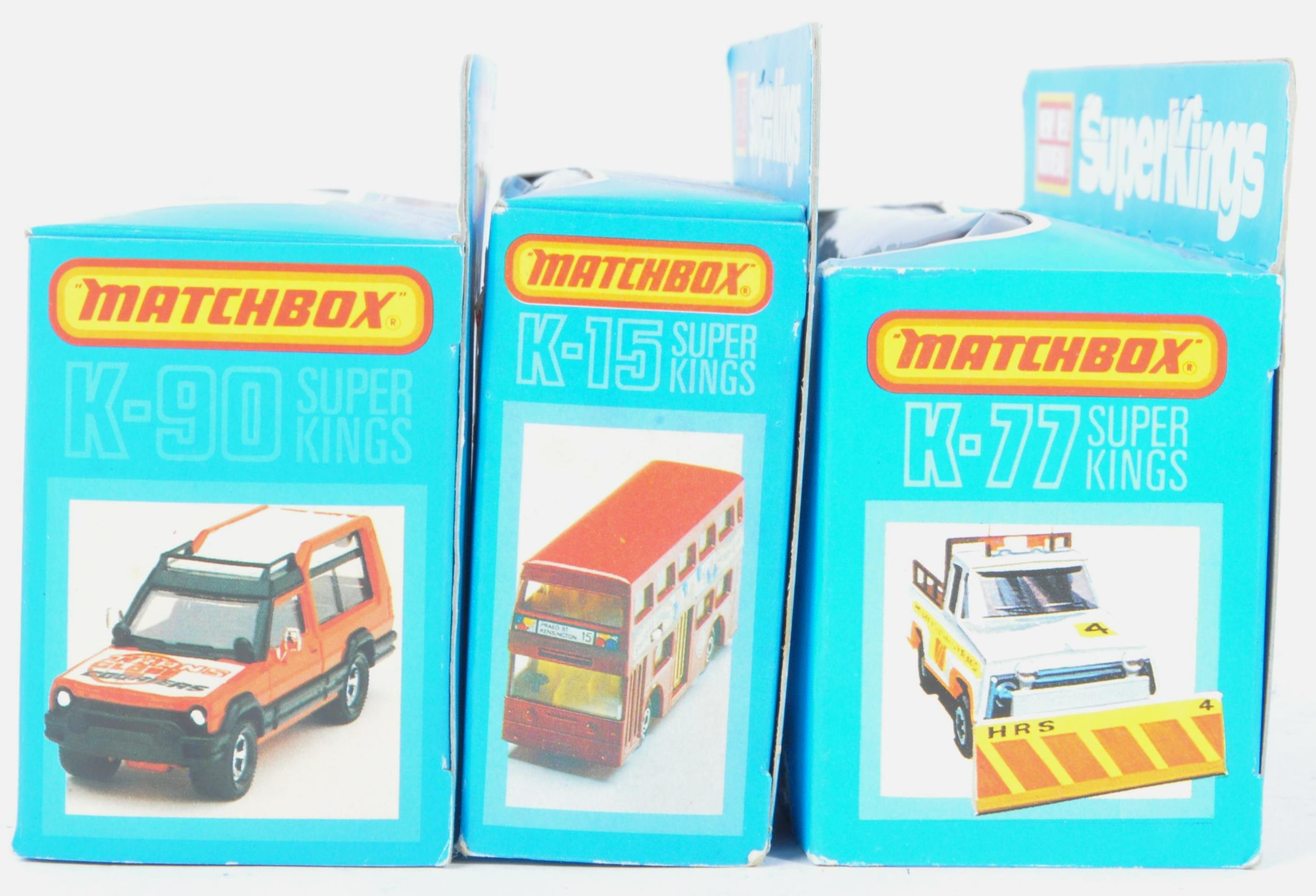 MATCHBOX SUPERKINGS - COLLECTION OF X3 MINT BOXED DIECAST MODELS - Image 5 of 5