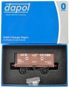 ORIGINAL BOXED DAPOL O GAUGE MODEL RAILWAY ROLLING STOCK WAGON