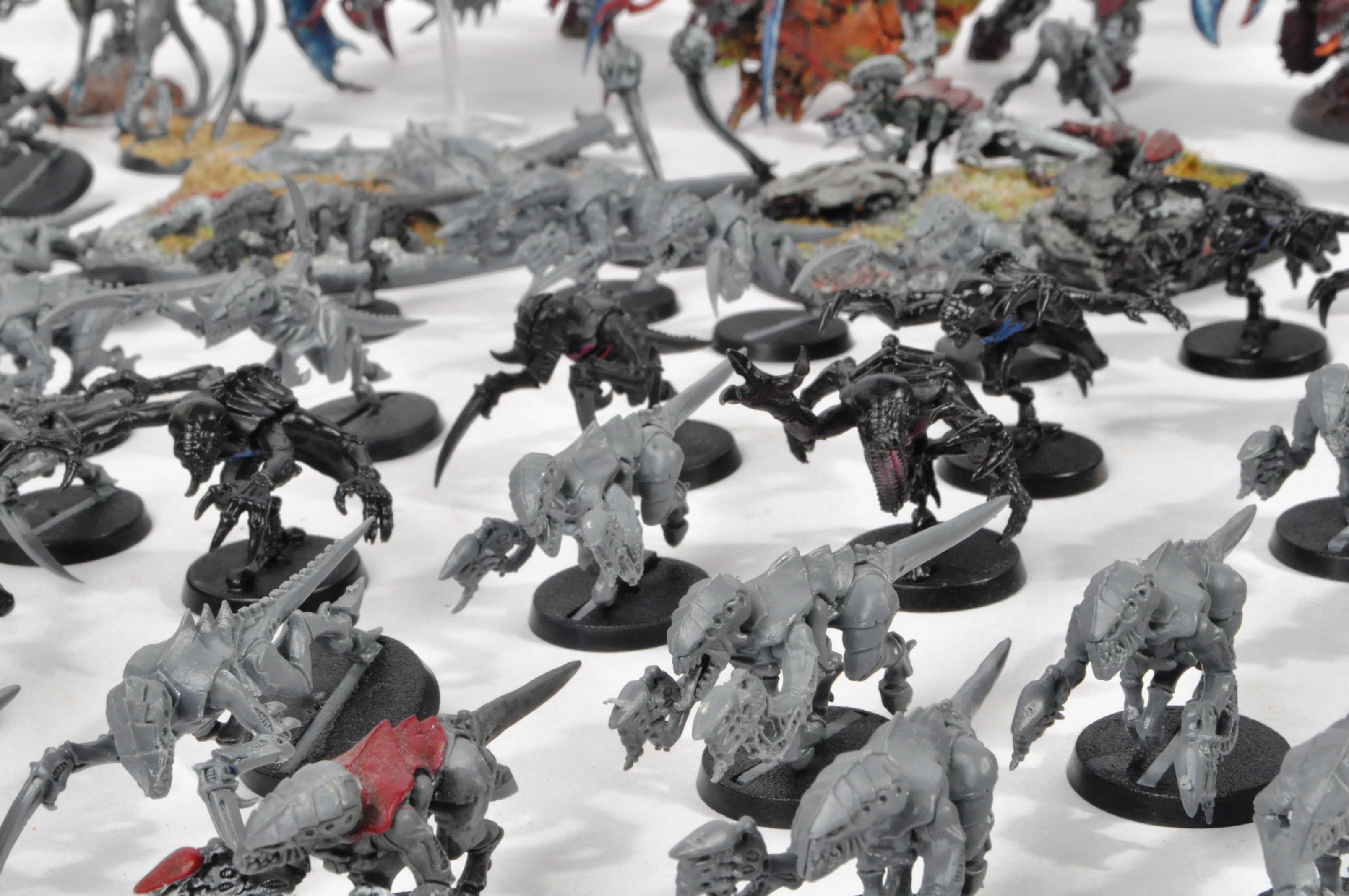 LARGE WARHAMMER 40K TYRANID ARMY - Image 8 of 12
