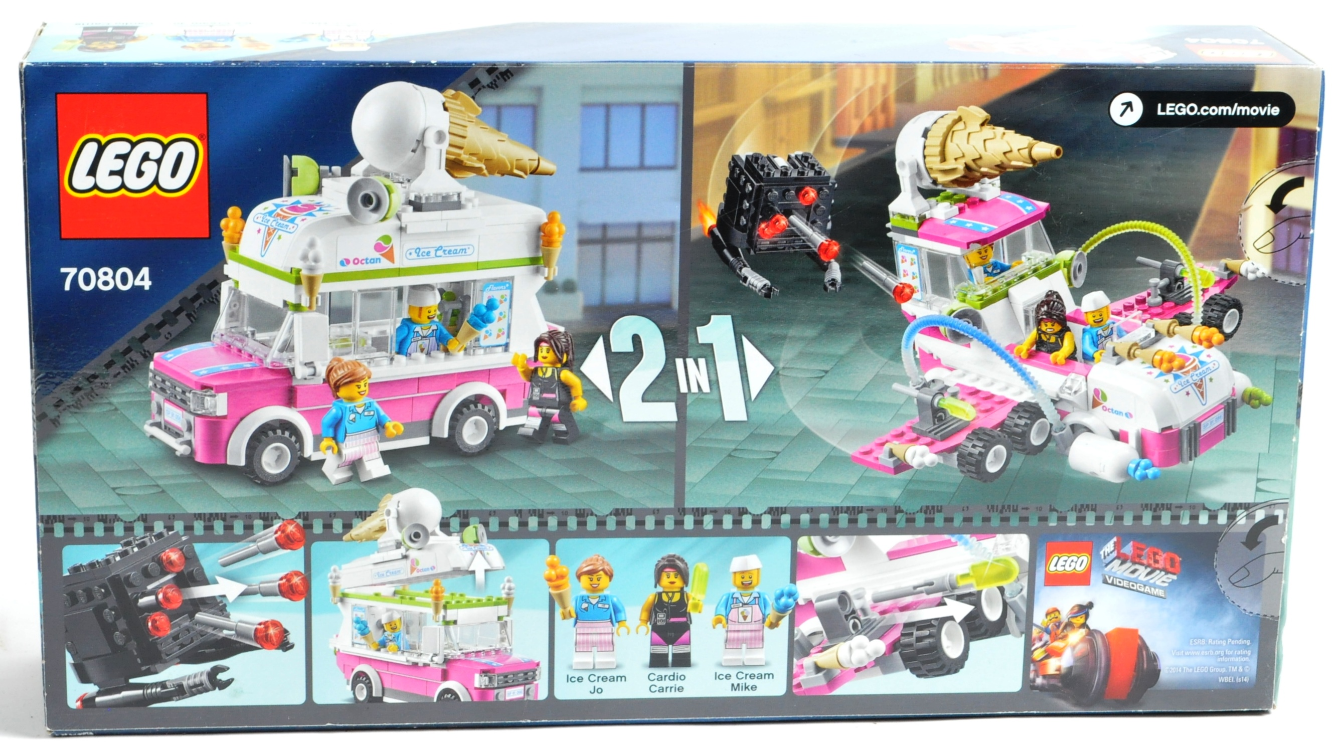 LEGO SETS - THE LEGO MOVIE - COLLECTION OF X7 LEGO MOVIE SETS - Image 15 of 17