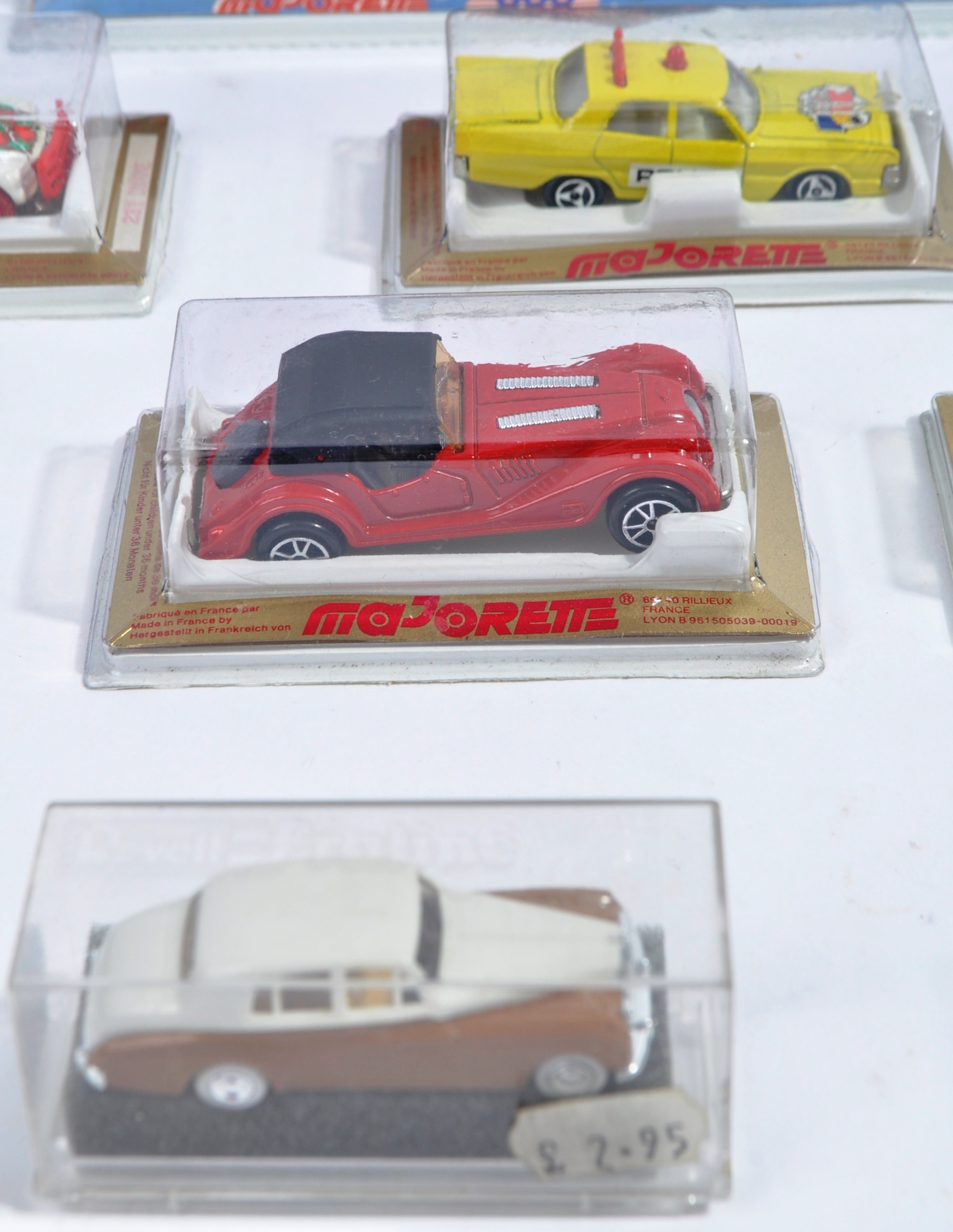 COLLECTION OF X16 ASSORTED MAJORETTE & REVELL MODEL CARS - Image 4 of 7