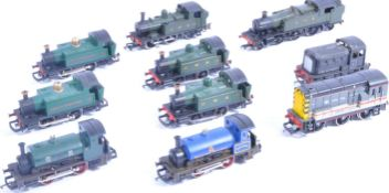 TRAINS - COLLECTION OF 00 GAUGE MODEL RAILWAY LOCOMOTIVES