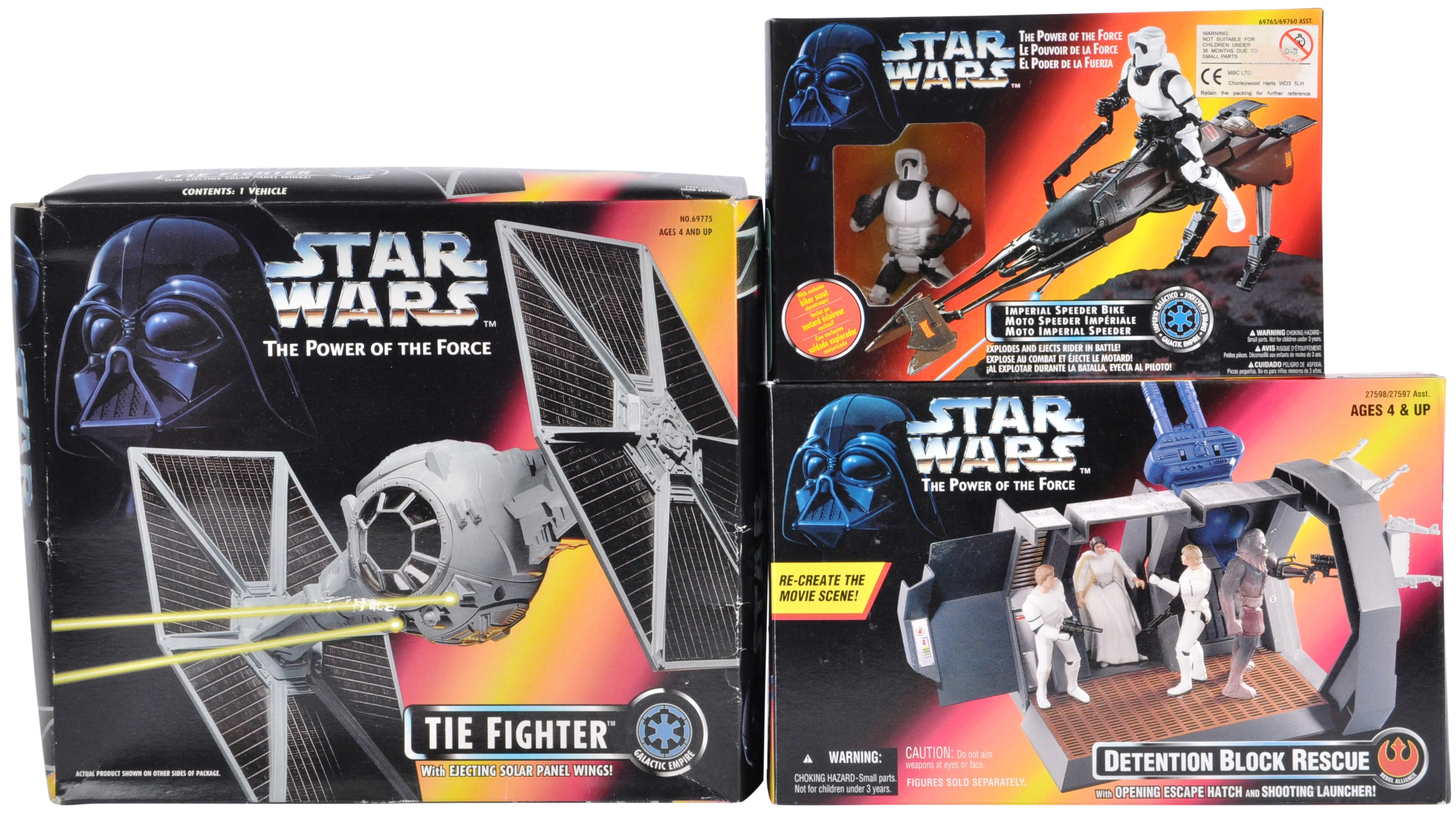 STAR WARS - COLLECTION OF KENNER POWER OF THE FORCES