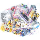 LARGE COLLECTION OF ASSORTED UNBOXED LEGO SETS