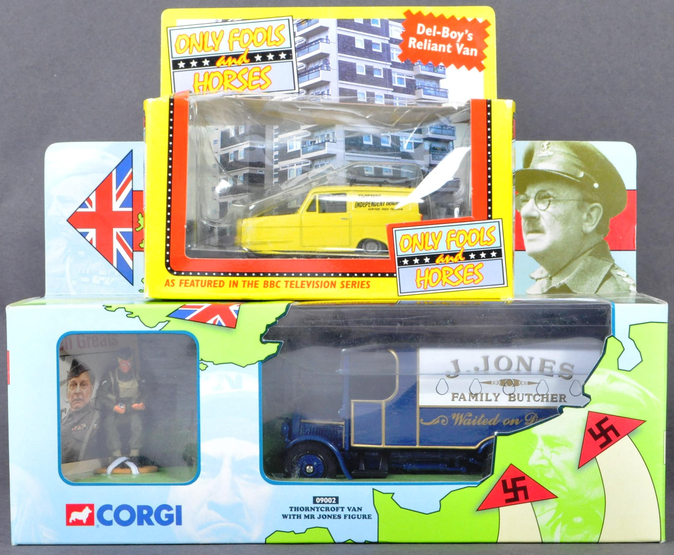 TV & FILM DIECAST - ONLY FOOLS & HORSES - DADS ARMY