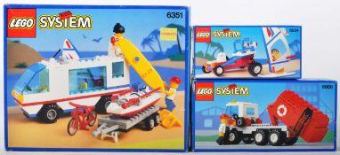 LEGO SETS - LEGO SYSTEM - 6351 / 6534 / 6668