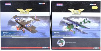 CORGI AVIATION ARCHIVE - TWO BOXED 1/48 SCALE LIMITED EDITION MODELS