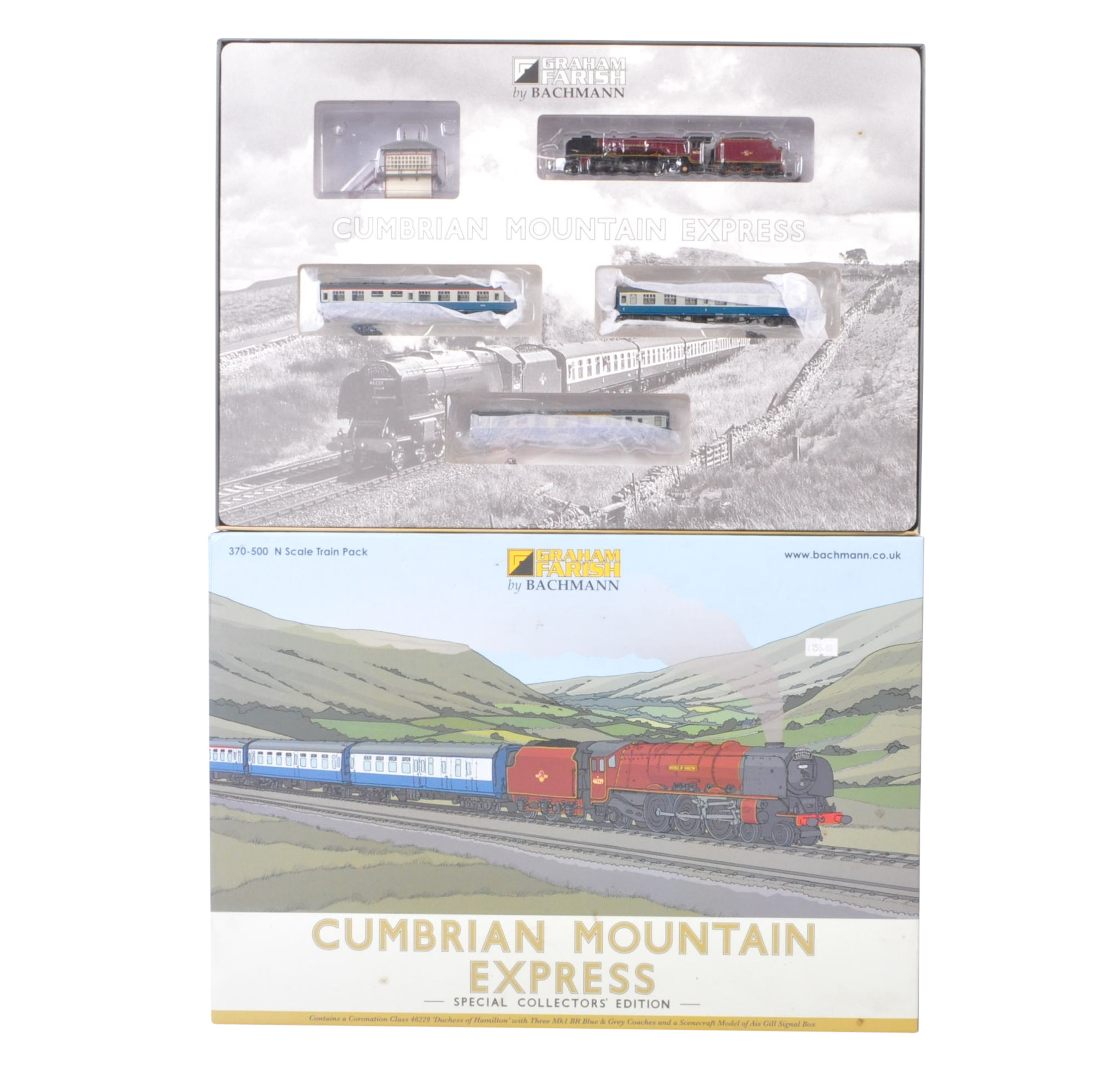 ORIGINAL BOXED GRAHAM FARISH CUMBRIAN MOUNTAIN EXPRESS TRAINSET