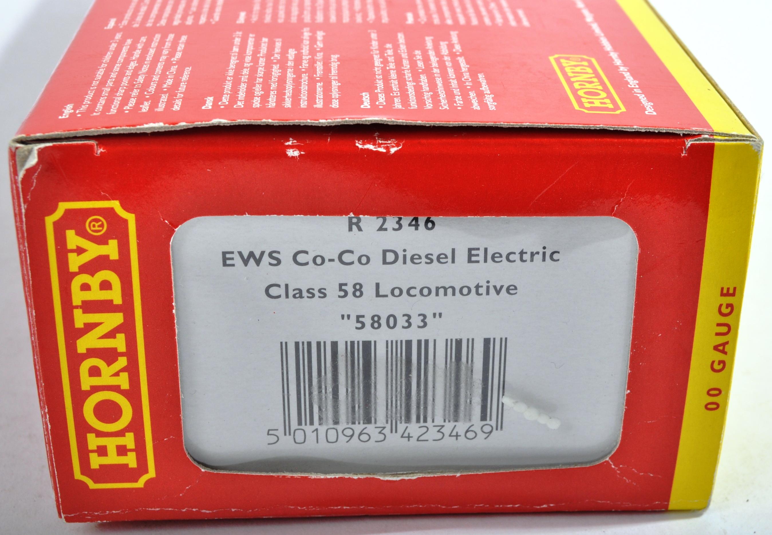 ORIGINAL HORNBY 00 GAUGE MODEL RAILWAY DIESEL ELECTRIC LOCO - Image 4 of 4