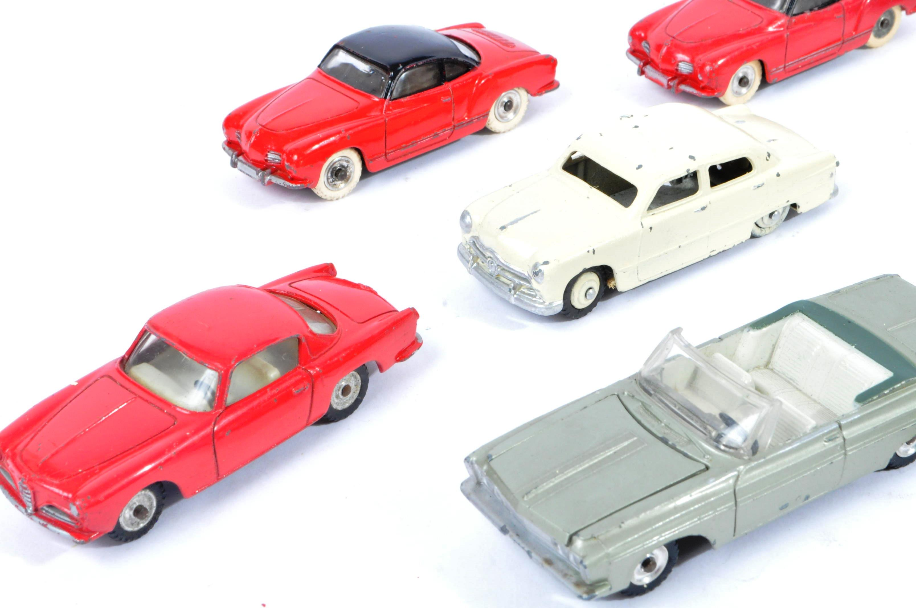 COLLECTION OF X10 VINTAGE DINKY TOYS DIECAST MODEL VEHICLES - Image 2 of 7