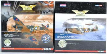 CORGI AVIATION ARCHIVE - TWO BOXED 1/72 SCALE LIMITED EDITION MODELS