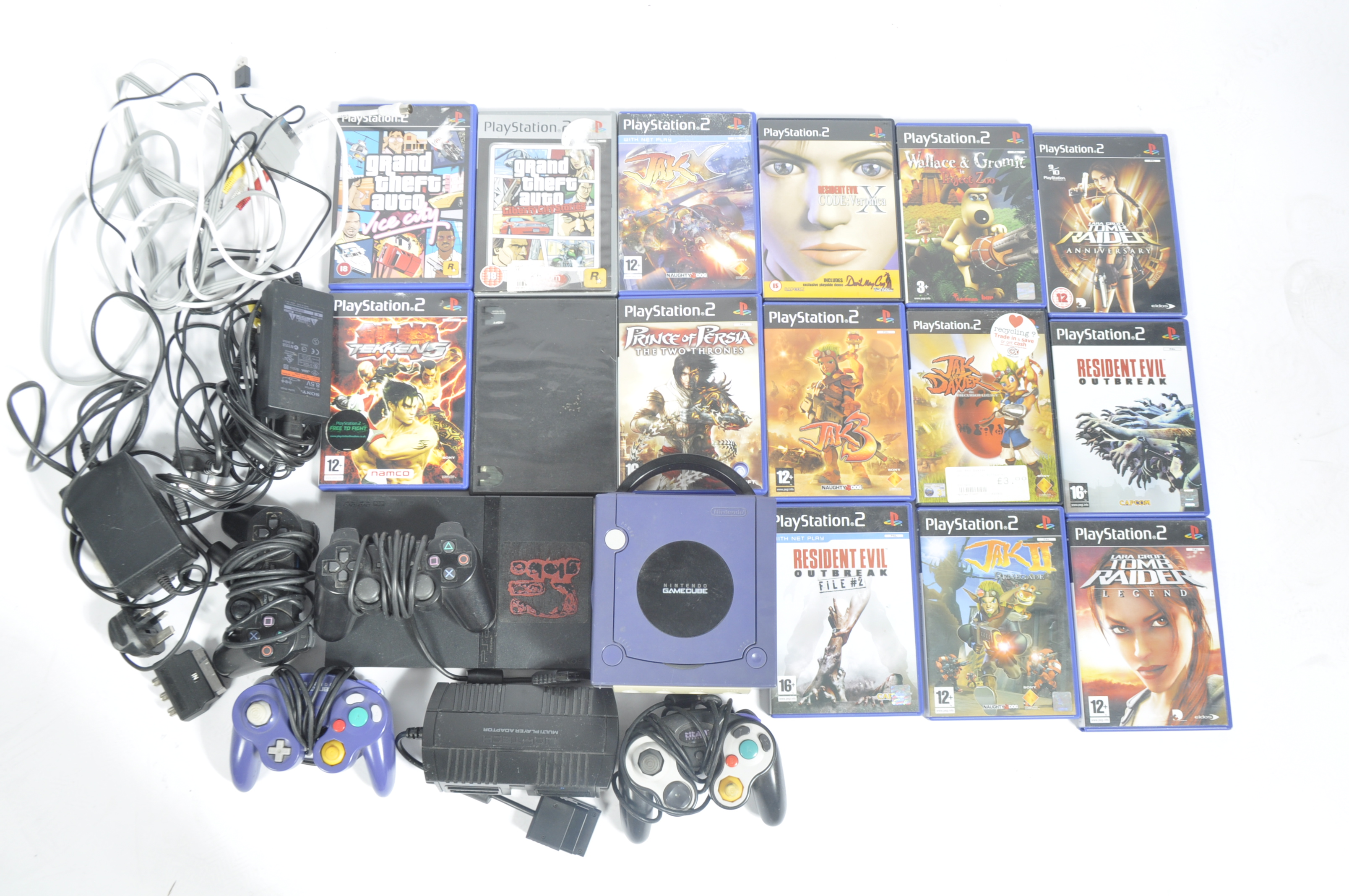 COLLECTION OF COMPUTER GAMES CONSOLES & GAMES