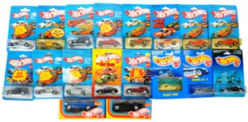 COLLECTION OF X18 ASSORTED VINTAGE HOT WHEELS DIECAST VEHICLES