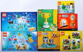 LEGO SETS - COLLECTION OF X7 ASSORTED BOXED LEGO SETS