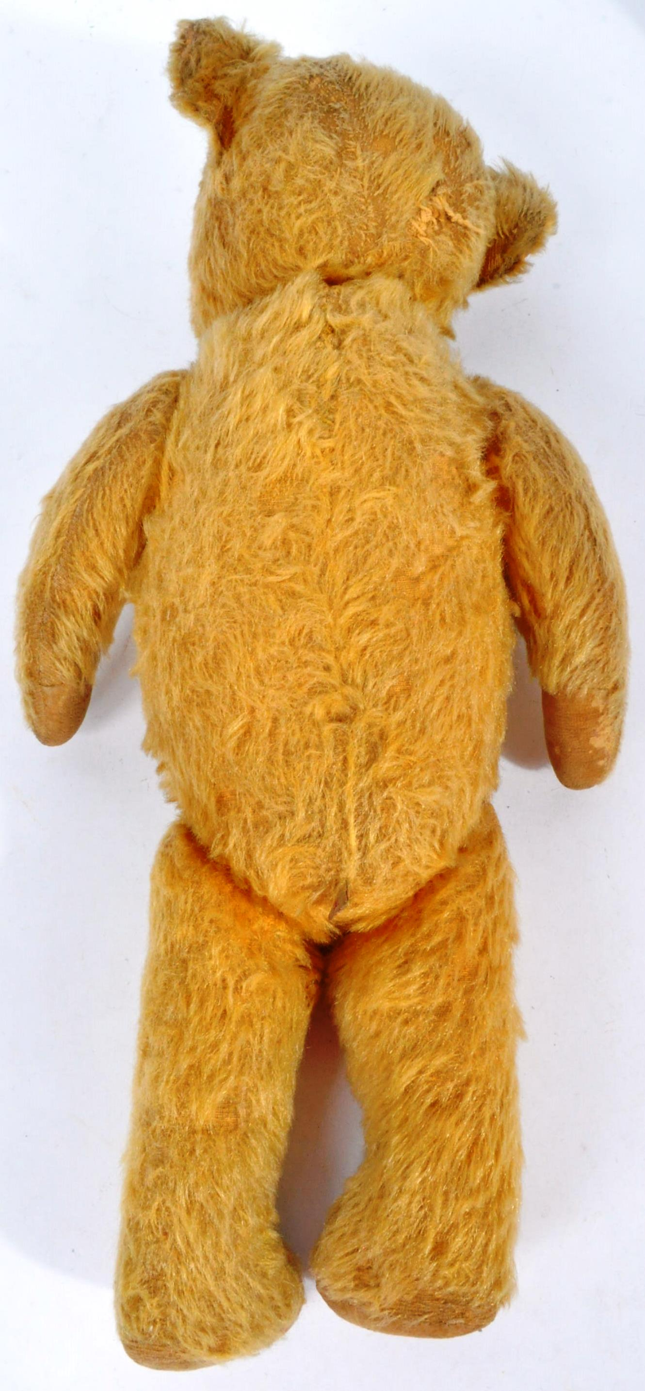 VINTAGE ENGLISH TEDDY BEAR AND GERMAN SCHUCO DOLL - Image 4 of 8