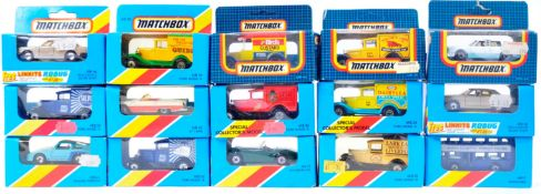 COLLECTION OF X15 VINTAGE MATCHBOX BOXED DIECAST MODELS