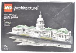 LEGO SET - LEGO ARCHITECTURE - 21030 - UNITED STATES CAPITOL BUILDING