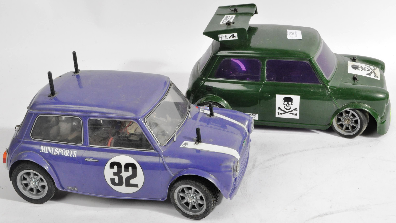 TAMIYA - TWO VINTAGE MINI COOPER RACING RC RADIO CONTROLLED CARS - Image 3 of 5