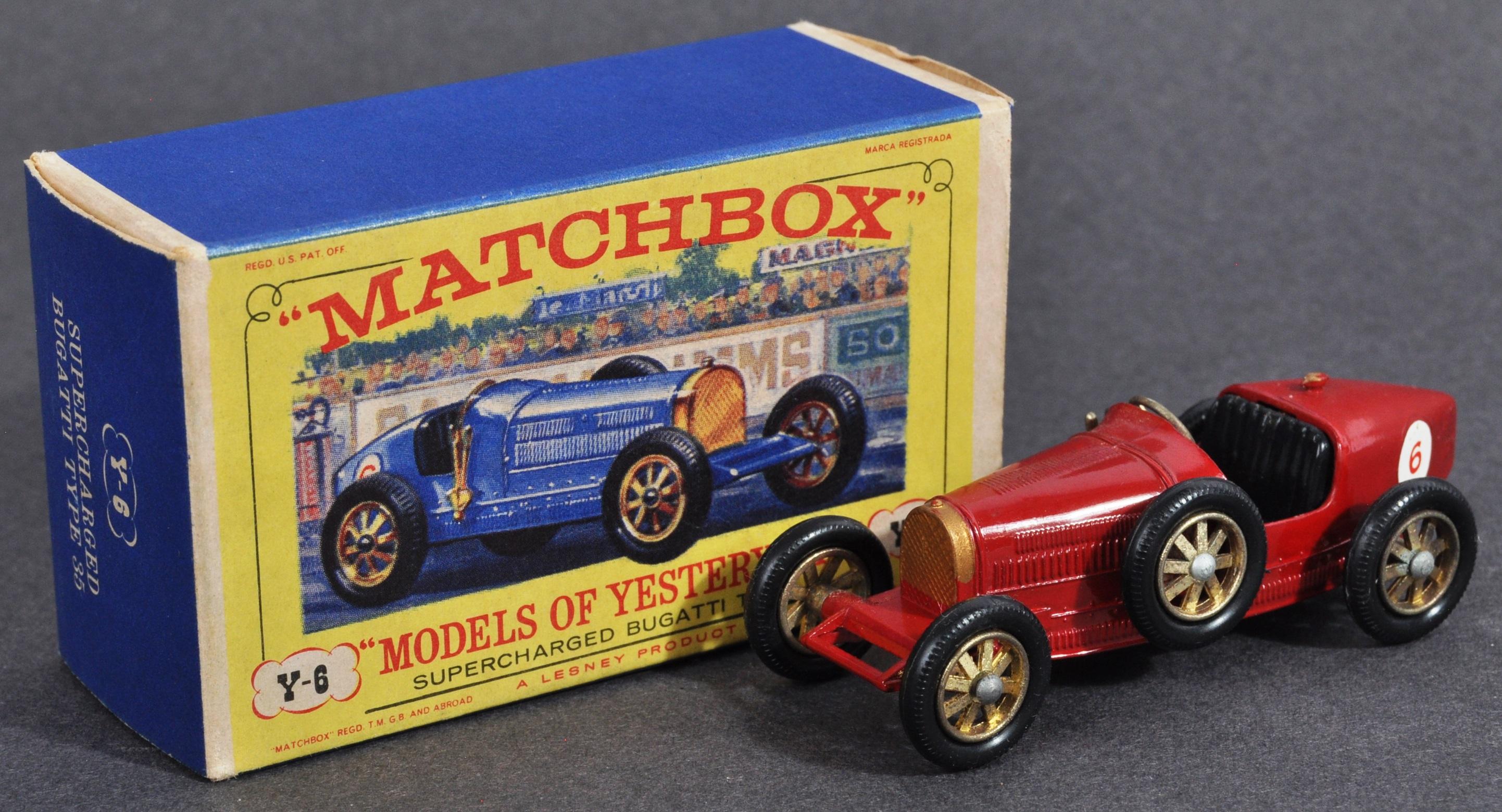 MATCHBOX LESNEY MODELS OF YESTERYEAR - RARE VARIATION Y6
