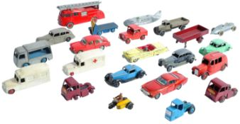 COLLECTION OF VINTAGE DINKY TOYS DIECAST MODEL VEHICLES