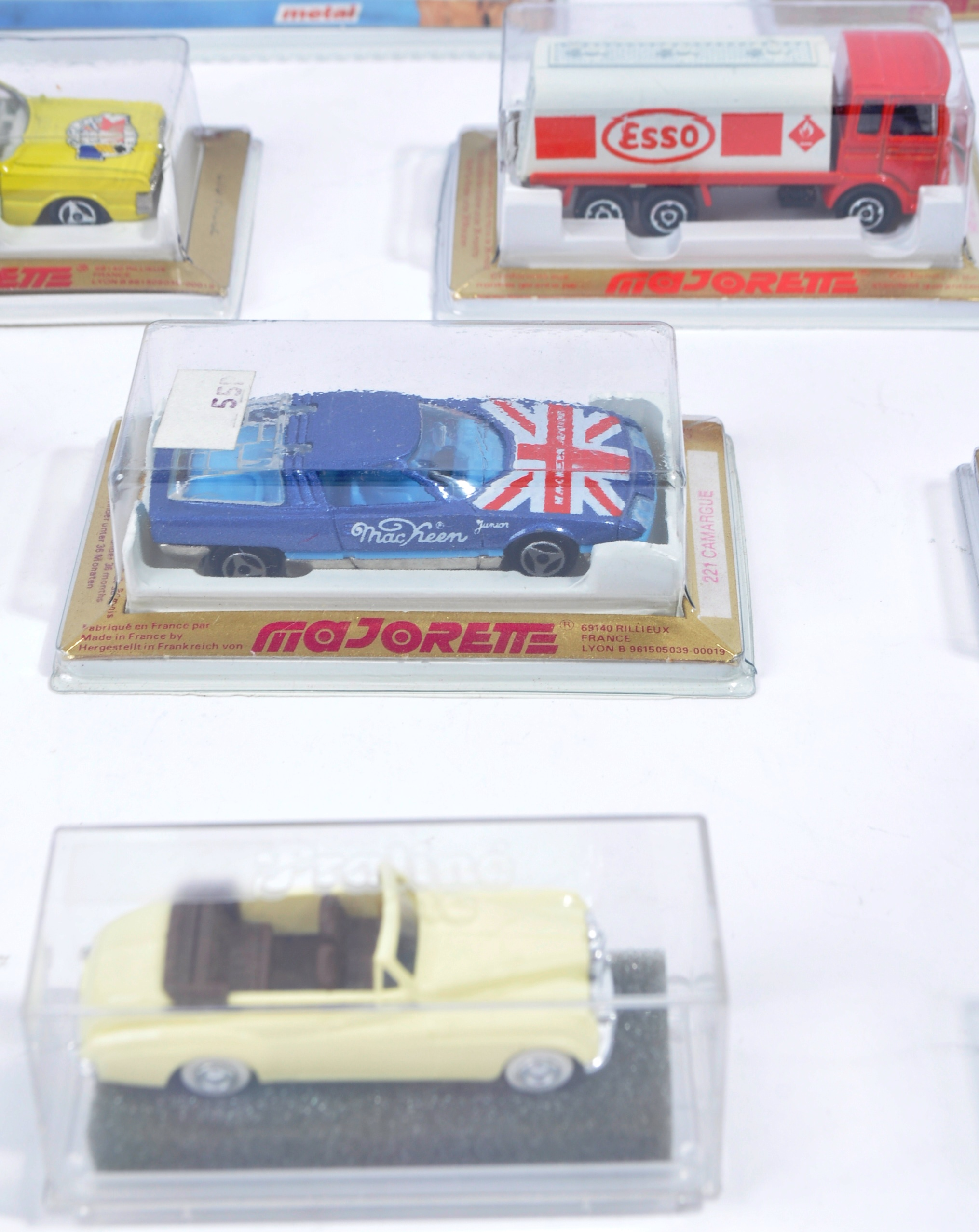 COLLECTION OF X16 ASSORTED MAJORETTE & REVELL MODEL CARS - Image 3 of 7