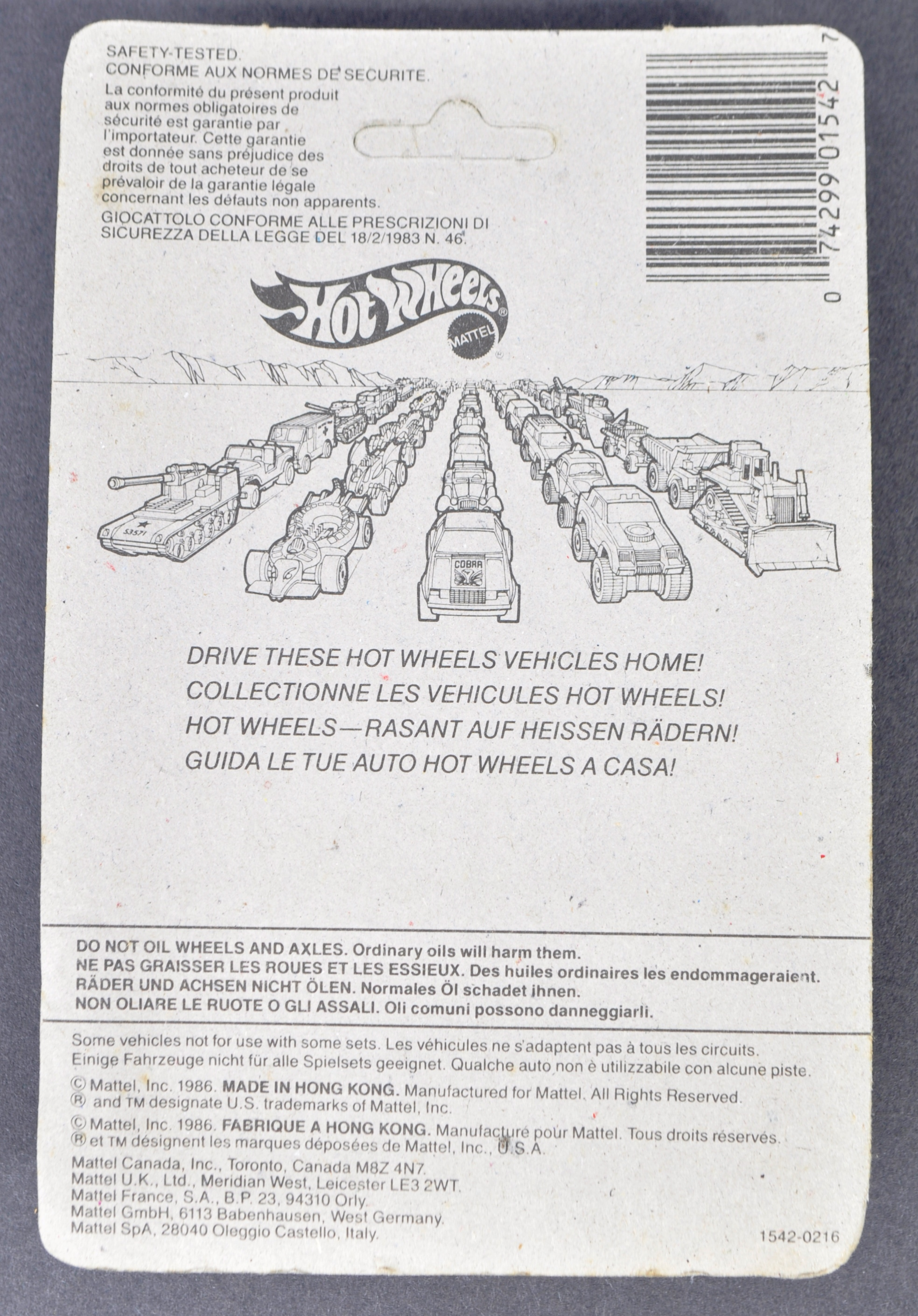 COLLECTION OF X7 VINTAGE MATTELL HOTWHEELS DIECAST CARS - Image 6 of 6