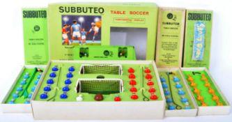 SUBBUTEO - COLLECTION OF VINTAGE BOXED TEAMS & SETS