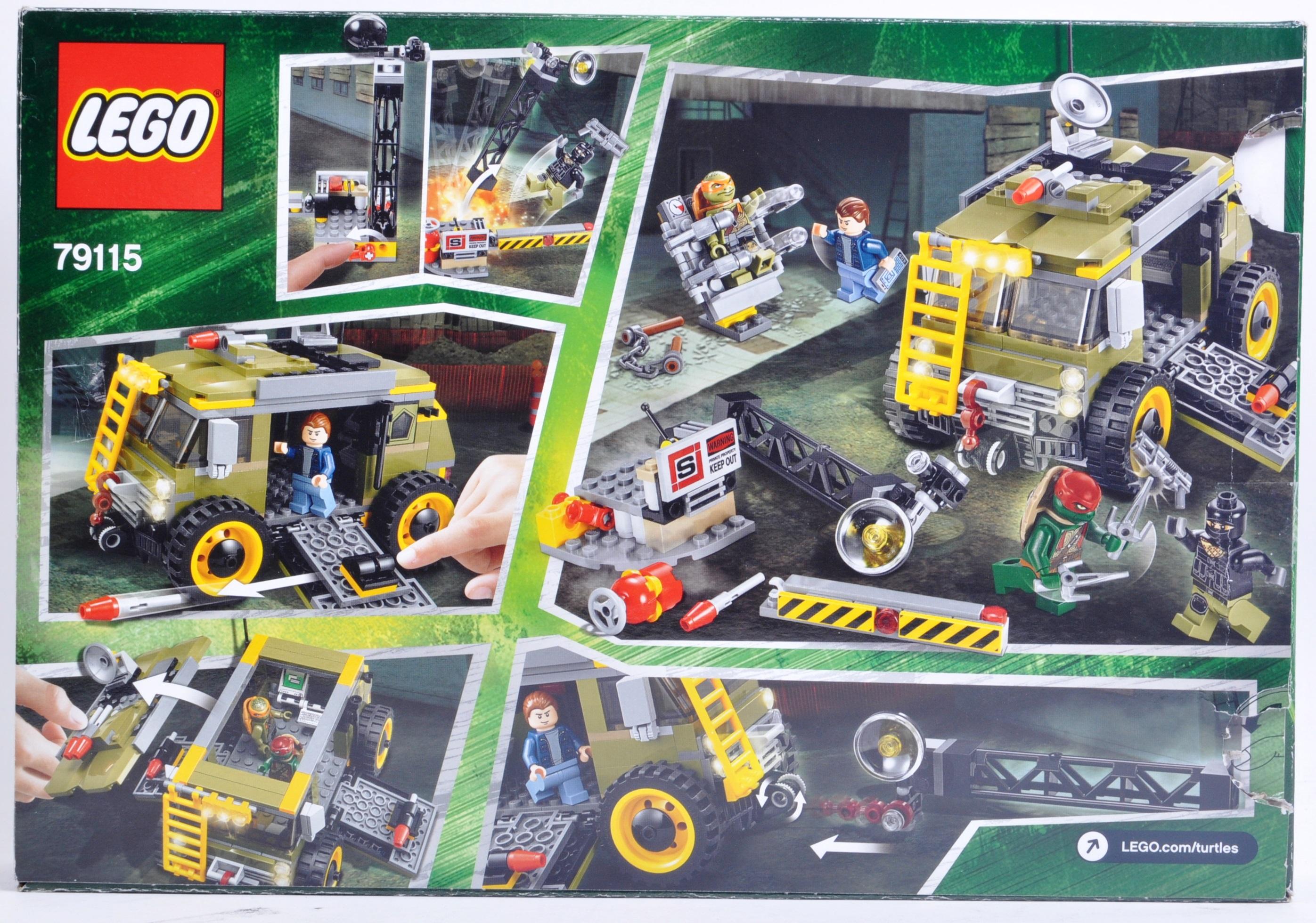 LEGO SET - LEGO NINJA TURTLES - 79115 - TURTLE VAN TAKEDOWN - Image 2 of 3