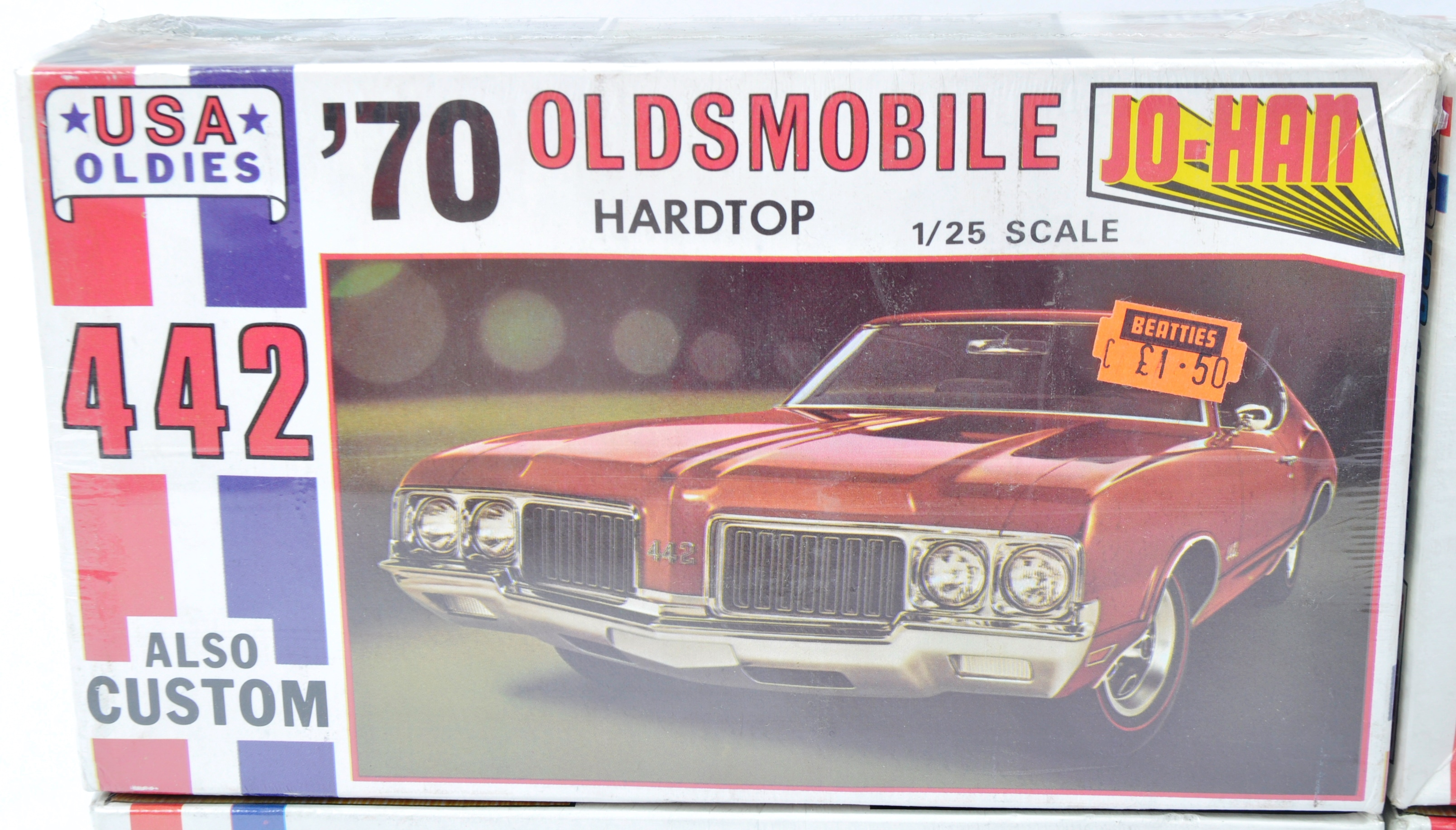 COLLECTION OF X4 VINTAGE JO-HAN FACTORY SEALED MODEL KITS - Image 6 of 7