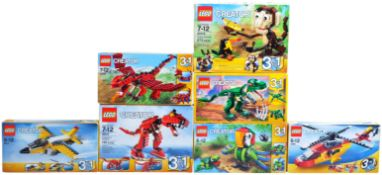 LEGO SETS - LEGO CREATOR 3 IN 1 - COLLECTION OF X7 LEGO SETS