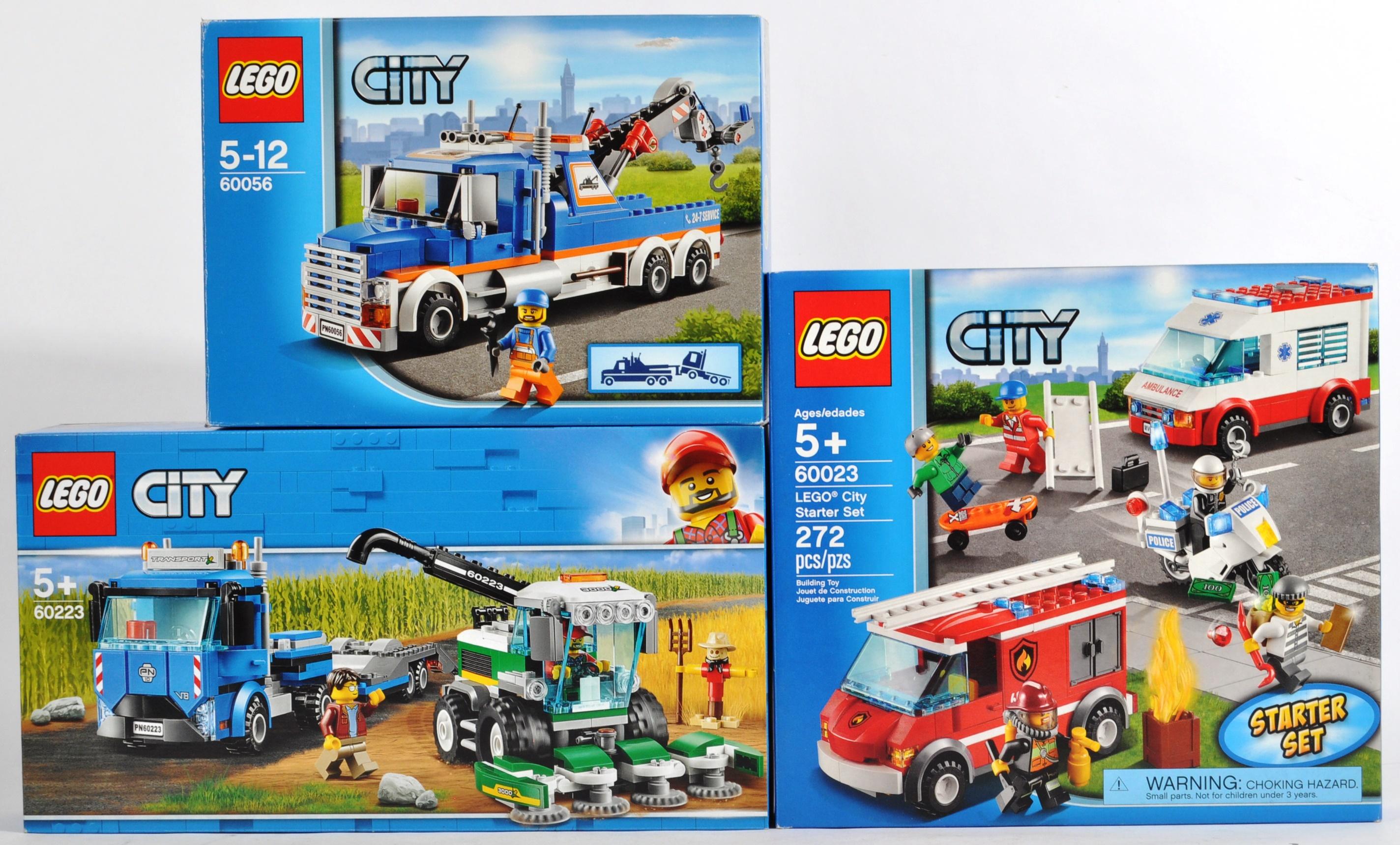 LEGO SETS - LEGO CITY - 60023 / 60056 / 60223