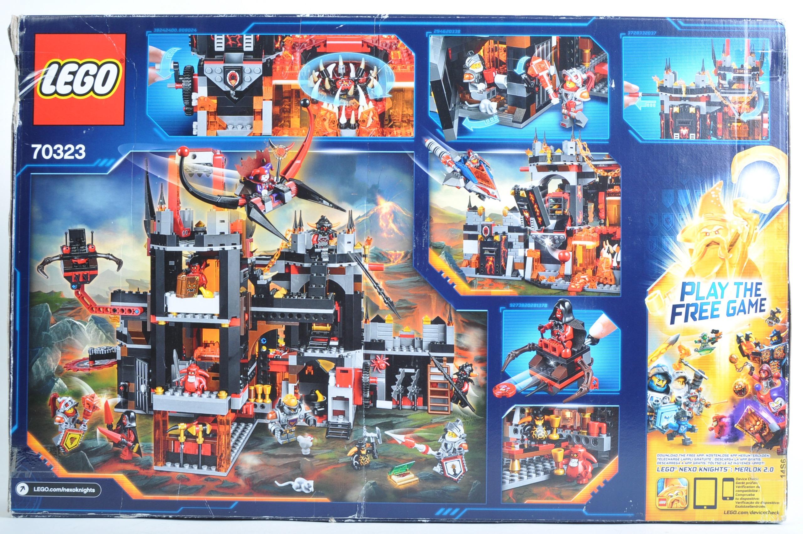 LEGO SET - NEXO KNIGHTS - 70323 JESTRO'S VOLCANO LAIR - Image 2 of 4