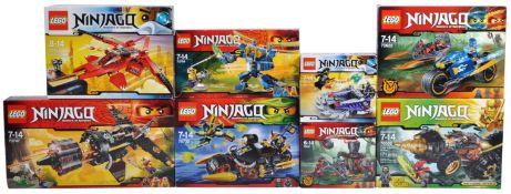 LEGO SETS - LEGO NINJAGO - COLLECTION OF X8 LEGO NINJAGO SETS