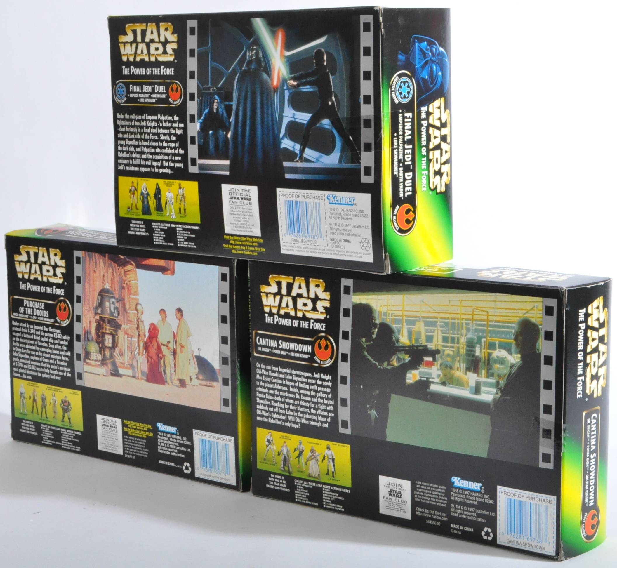 STAR WARS - COLLECTION OF KENNER POWER OF THE FORCE ACTION FIGURES - Image 4 of 5