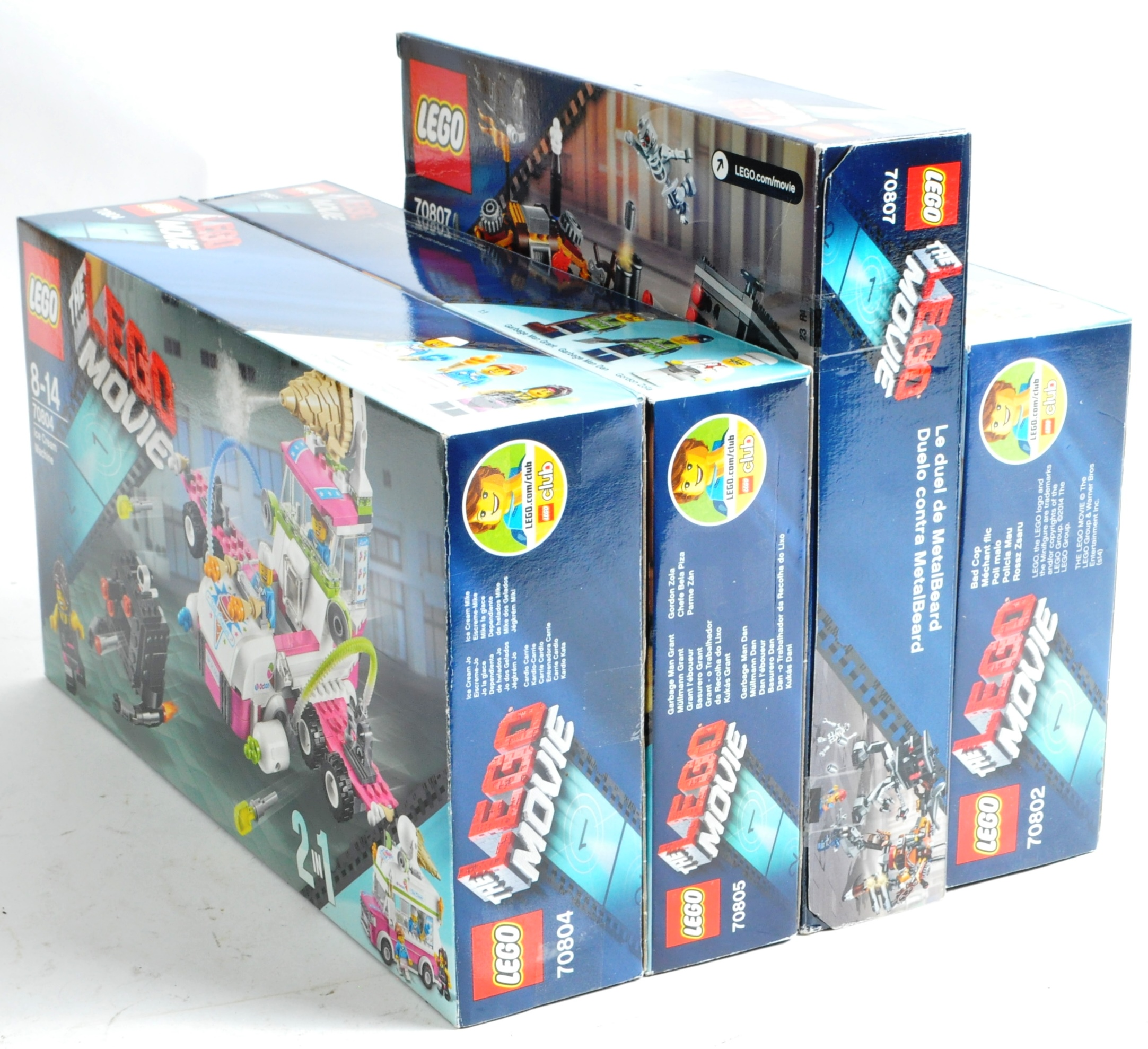 LEGO SETS - THE LEGO MOVIE - COLLECTION OF X7 LEGO MOVIE SETS - Image 16 of 17