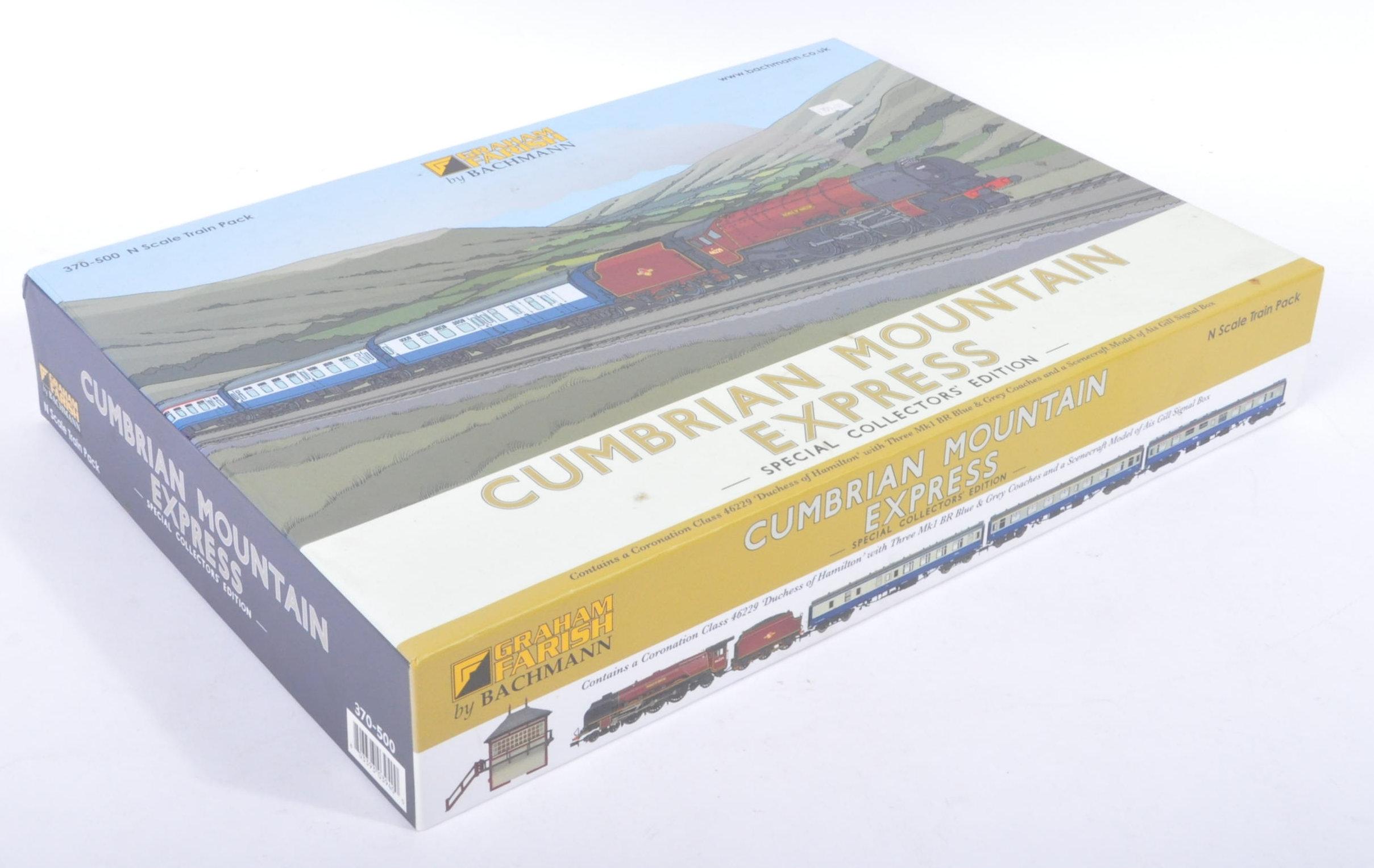 ORIGINAL BOXED GRAHAM FARISH CUMBRIAN MOUNTAIN EXPRESS TRAINSET - Image 8 of 9