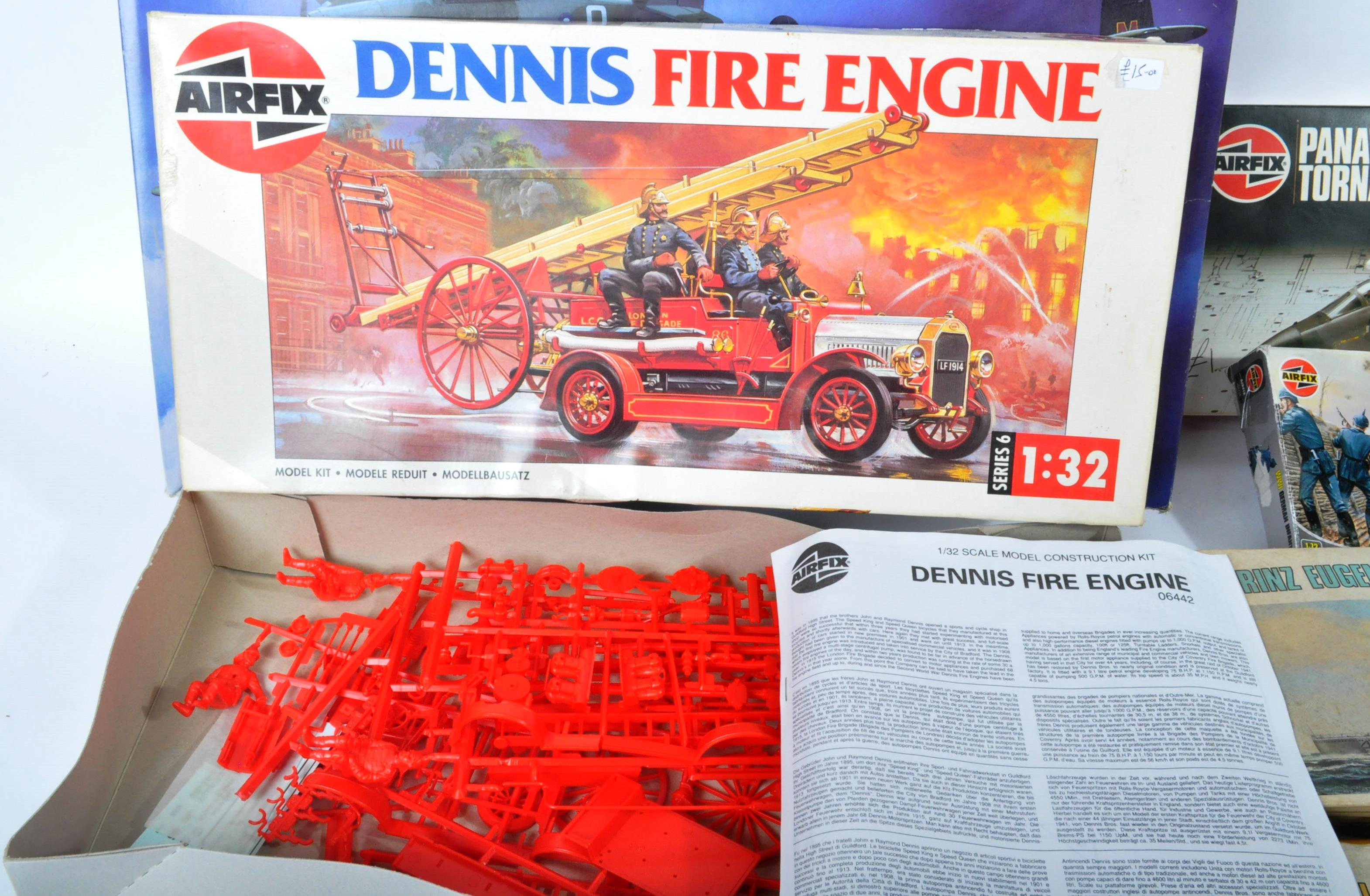 COLLECTION OF ASSORTED AIRFIX AND REVELL PLASTIC MODEL KITS - Image 7 of 8