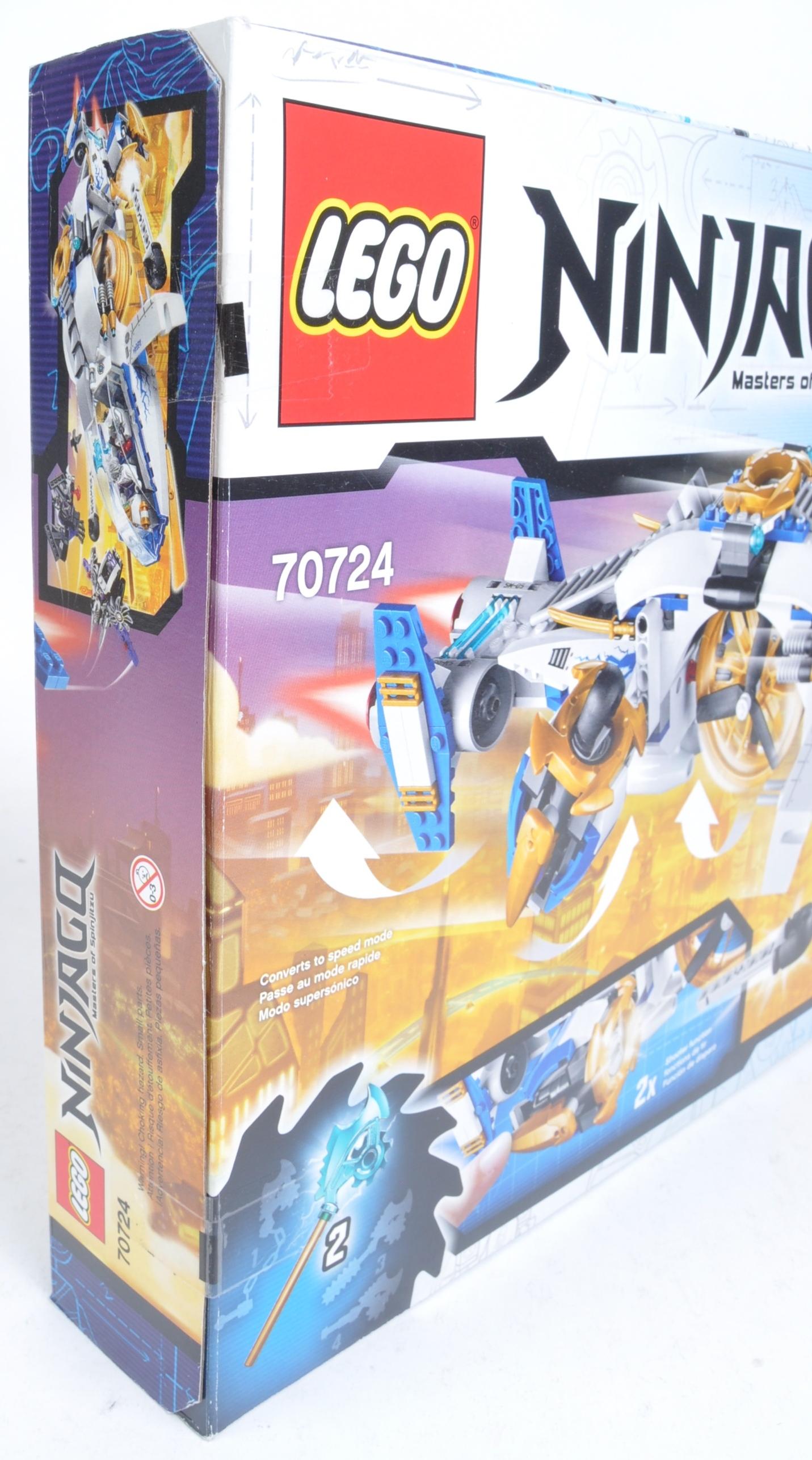 LEGO SETS - NINJAGO MASTERS OF SPINJITZU - 70722 / 70724 - Image 4 of 6