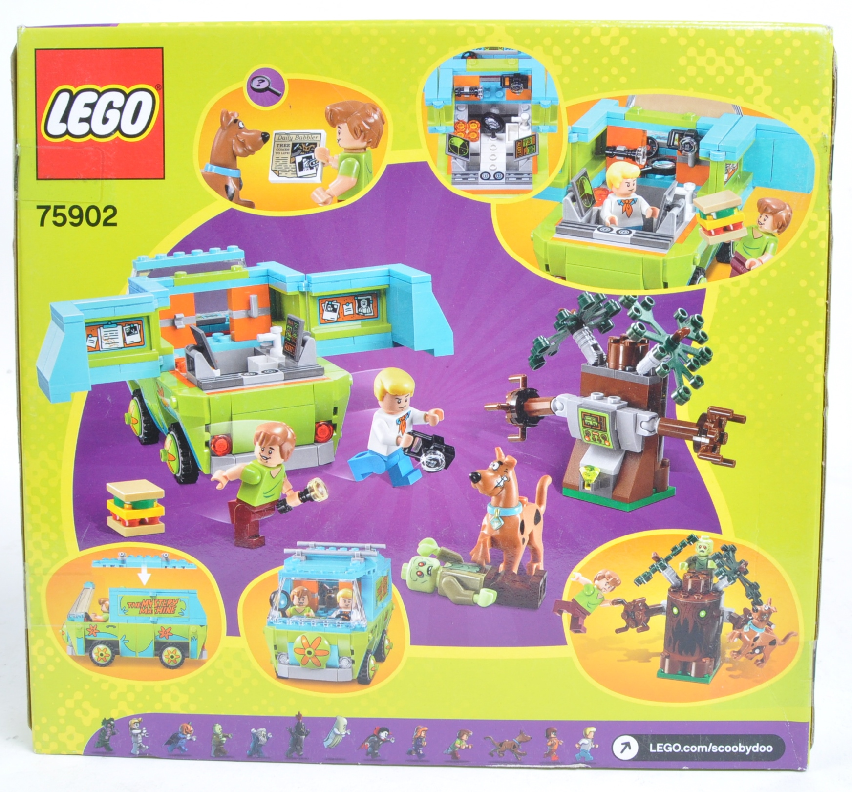 LEGO SET - SCOOBY DOO - 75902 - THE MYSTERY MACHINE - Image 2 of 4