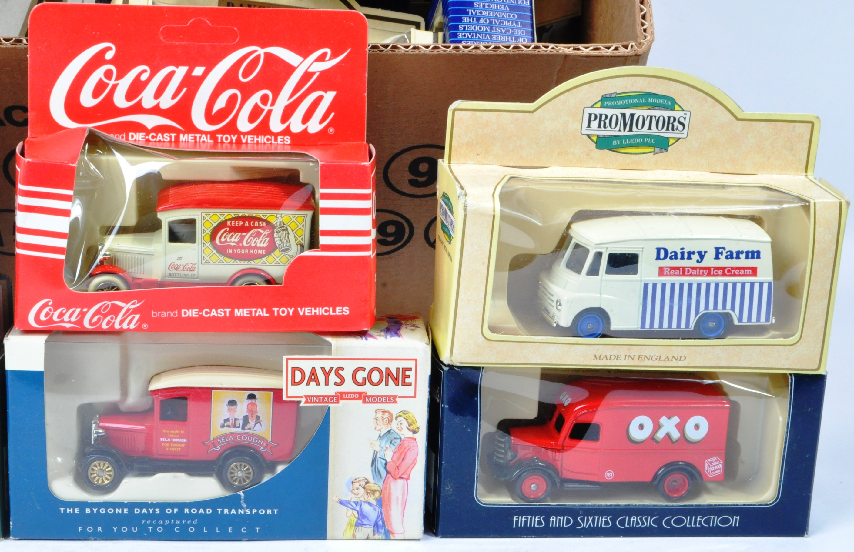 COLLECTION OF ASSORTED LLEDO DIECAST MODELS OF DAYS GONE - Image 3 of 4