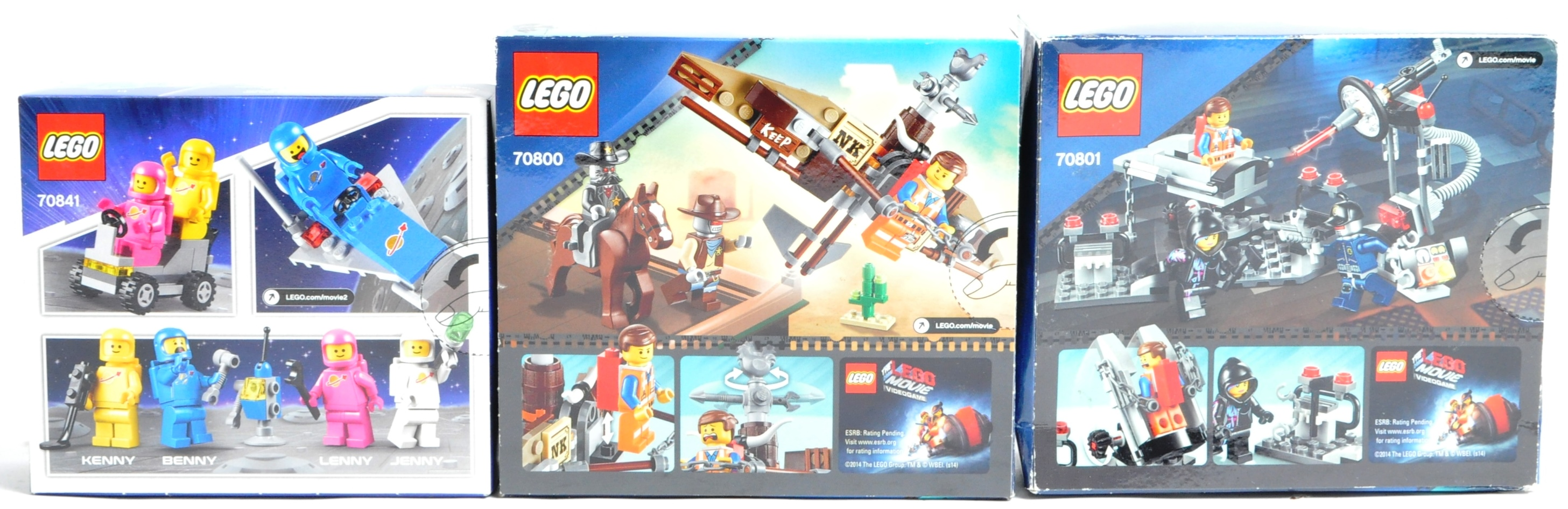 LEGO SETS - THE LEGO MOVIE - COLLECTION OF X7 LEGO MOVIE SETS - Image 9 of 17