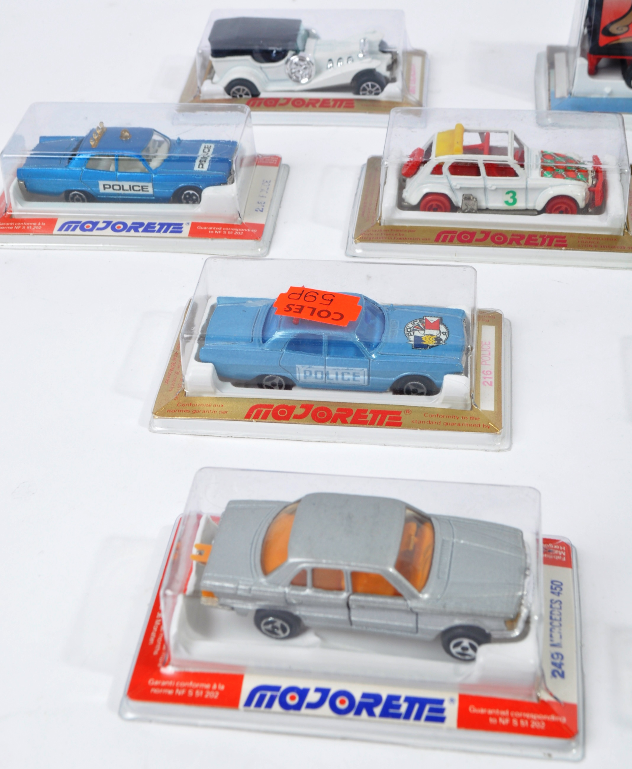 COLLECTION OF X16 ASSORTED MAJORETTE & REVELL MODEL CARS - Image 5 of 7