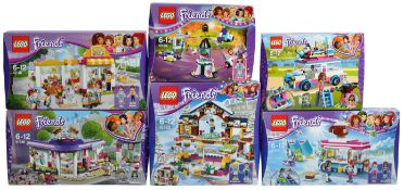 LEGO SETS - LEGO FRIENDS - COLLECTION OF X6 LEGO FRIENDS SETS