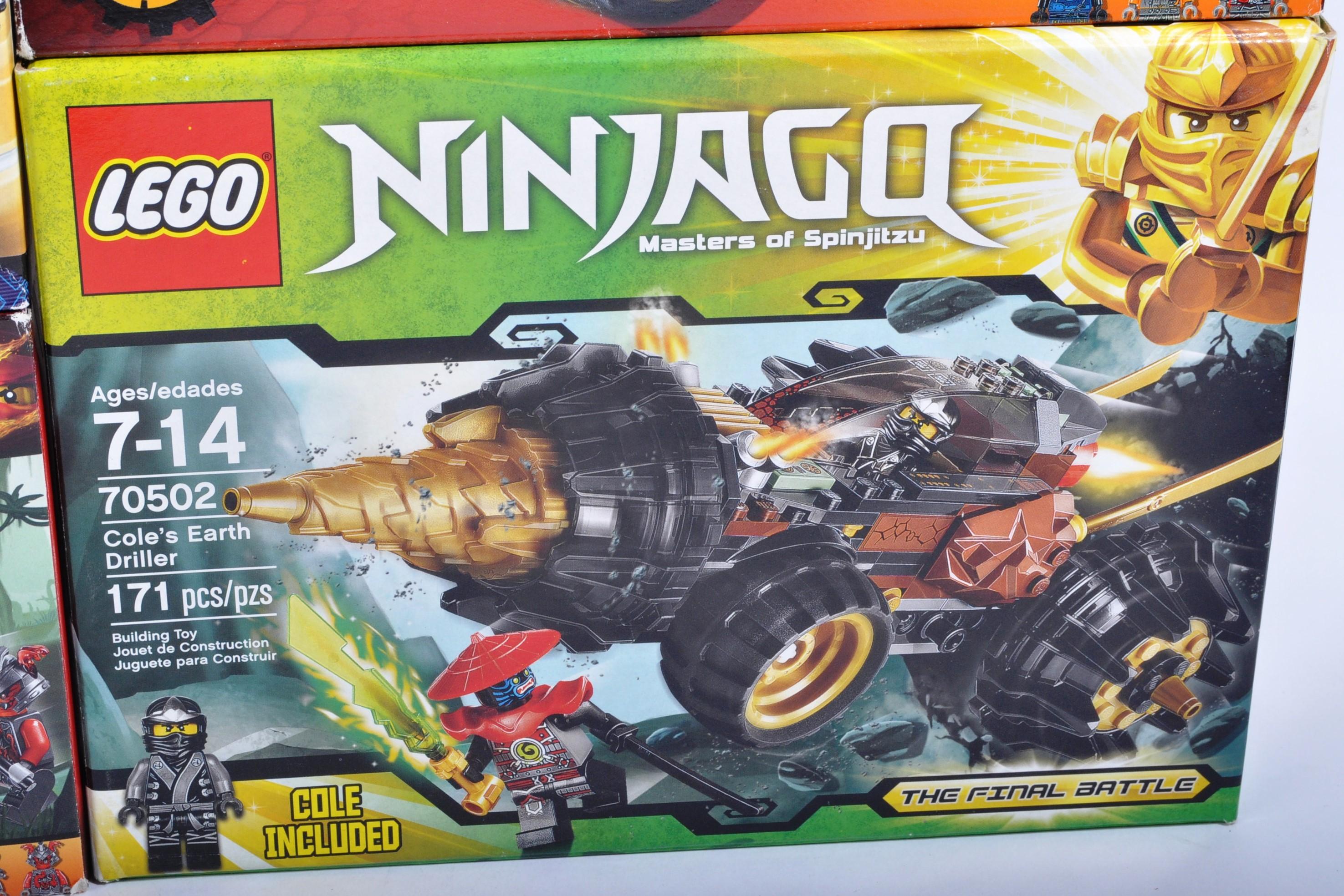 LEGO SETS - LEGO NINJAGO - COLLECTION OF X8 LEGO NINJAGO SETS - Image 9 of 9